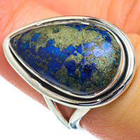 Azurite 925 Sterling Silver Ring Size 7.25 Ana Co Jewelry R47379F