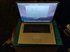 Apple PowerBook G4 38,6 cm (15,2 Zoll) Laptop - 1GHz, 1GB RAM 100GB HDD