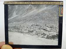 LANTERNA MAGICA  ALPINISMO VAL D'AOSTA Evançon Val d'Ayas MONTE ROSA 1900