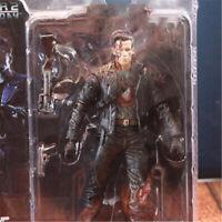 Terminator 2 T-800 Schwarzenegger Battle Damaged Masterpiece Action Figure Toy