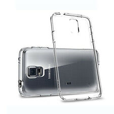 iDefend Samsung Galaxy S5 Neo Clear Gel Silicone Case Cover + Protector