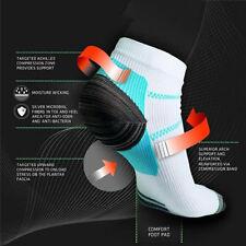 Women Men Plantar Fasciitis Heel Arch Pain Relieving Compression Sport Socks Hot