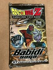SEALED Dragon Ball Z Collectible Card Game Babidi Saga Booster Pack – Rare Card