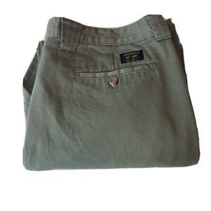 Vintage Mens Lee Leesures Cargo Trousers Large W34 L30 34x30 34S Utility Khaki