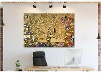 Tree Of Life Gustav Klimt Canvas Wall Art Print