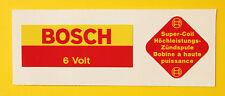 BOSCH Blue 6V Coil Sticker Decal set Vintage PORSCHE 356 911 BMW VW BEETLE BMW