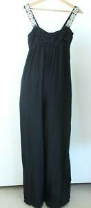 Zara Basic BNWT Black Women Jumpsuit Size XS