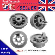 Bosch 00424717 Classic Older Style Dishwasher Small Upper Basket Wheel Kit Pack of 2