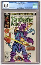 Fantastic Four 243 (CGC 9.4) Galactus; Terrax; Dr. Strange; John Byrne (j#6745)