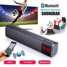 Soundbar TV Speaker Wireless Bluetooth HiFi FM Subwoofer Theater  Home Sound Bar