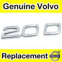 Genuine Volvo S40, V50 (04-) C30 (-10) 2.0D Badge / Emblem