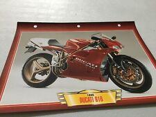 057 Ducati 916 1998 Fiche collection ATLAS motos de légende