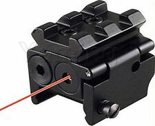 Red Laser Sight Fit For Crossbow Rifle Airsoft Pistol Detachable Picatinny Rail