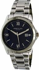 Kenneth Cole New York 40mm Men's Shocking Blue Steel Numeral Watch 10031363 NEW