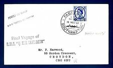 GREAT BRITAIN - GRAN BRETAGNA - 1968 - BUSTA -  Annulli speciali