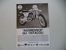 advertising Pubblicità 1977 MOTO PUCH FRIGERIO