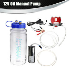 Strong Suction Manual Oil Changer Water Vacuum Fluid Extractor Pump 2L Bottle