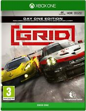 GRID: Day One Edition XBOX ONE GAME BRAND NEW SEALED  FREE P+P (A2)