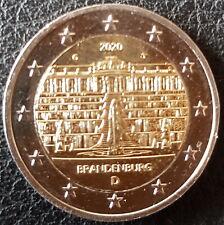 2 Euro Gedenkmünze Deutschland 2020 Brandenburg G Umlauf