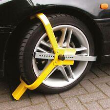 Sabot roue antivol caravane, voiture, camping car ; remorque , bloque roue