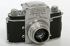 Ihagee (Exakta) Exa 204002 35mm Camera With Zeiss Tessar 5cm f3.5 50mm