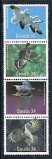 Canada 1986 Birds Strip 4 SG 1199-1202 MNH