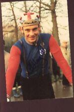 CHRIS WREGHITT cyclisme Signed Cyclo-Cross Photo ciclismo UK autograph Cycling