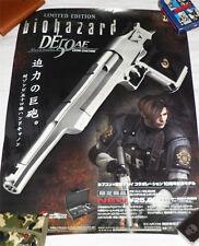 BIOHAZARD 2 Desert Eagle Leon Custom Promo Poster Resident Evil Tokyo Marui