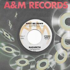 NAZARETH - SHOT ME DOWN/KENTUCKY FRIED BLUES A&M 2009 unplayed Near Mint