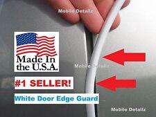 Trim Molding 4 Door Kit Gloss WHITE DOOR EDGE GUARDS fits: (Cadillac ESCALADE)