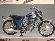 Kawasaki 650 W1S (Special) 1968 1:12 High-Tech Assembly Model Gunze Sangyo Rare