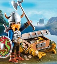 Playmobil 5371 Vikings Special plus with Goldschatz and Gear Set, New