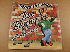 """Jive Bunny : Swing The Mood : Vintage 7"""" Single from 1989"""