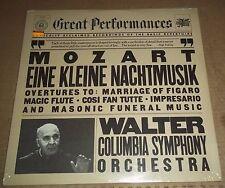 Bruno Walter MOZART Eine Kleine Nachtmusik, Overtures - CBS MY 37774 SEALED