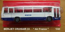 n° 85 BERLIET CRUISAIR 3   AIR FRANCE  Autobus et Autocar du Monde 1969 1/43 new