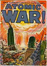 ATOMIC WAR! #1 (1952) PHOTOCOPY COMIC BOOK - ACE MAGAZINES