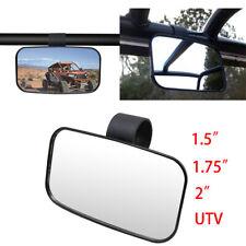 "Rear View Mirror Side Mirrors 1.75"" 2"" Roll Bar For Polaris RZR Suzuki UTV ADZF"
