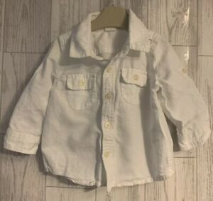 Boys Age 6-12 Months (6-9 & 9-12 Months ) Gap Long Sleeved Shirt
