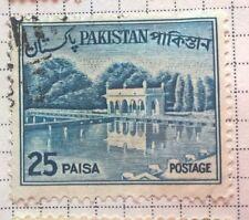 Pakistan  stamps - Shalimar Gardens - 1962 25 paisa