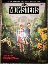 Monsters (Highly Rated Sci-fi Movie) Dvd - 2 Disc Set