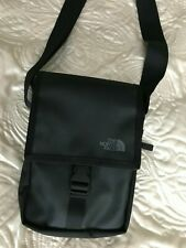 North Face black multi way men bag shoulder cross body messenger belt bum bag