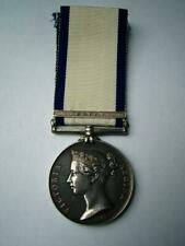 Victorian Navy General Service medal 1801 Egypt M Norman Commander from Portsea