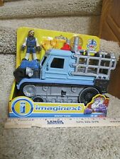 Fisher Price Imaginext New Yeti Snow Tank Jeep Armor Trap Jail Dude Oh No Beware