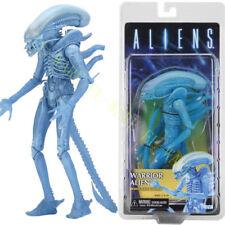 "NECA Aliens 11 Séries Kenner Blue Warrior Alien 9"" Action Figurine Modèle"