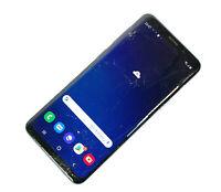 Samsung Galaxy S9 SM-G960 64GB Black Unlocked Single SIM POOR CONDITION 164