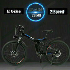 "26"" EBike Electric Bike Foldable Mountain Bicycle 36V Li-Ion 250W E-City-Bike UK"