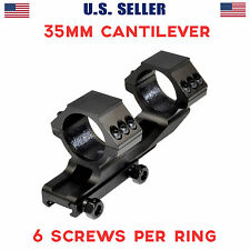 Sniper 35mm High Profile Dual Rings Cantilever OffSet Rifle Scope Mount 56mm OK
