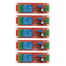 5pcs DC 12V Delay Relay Shield NE555 Timer Switch Adjustable Module For Arduino