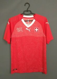Switzerland Jersey 2018 2020 Home SMALL Shirt Soccer Football Puma ig93