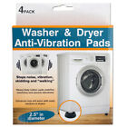 Washer & Dryer Anti-Vibration Heavy Duty Rubber Pads Set - 4 pcs photo